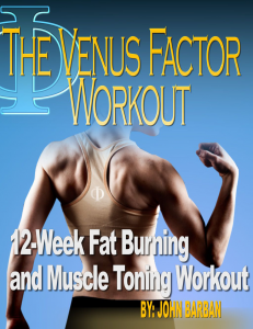 venus factor workout