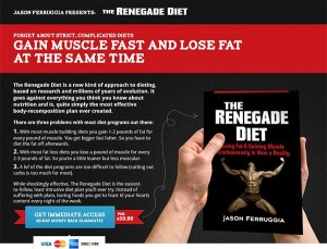 Renegade Diet official site