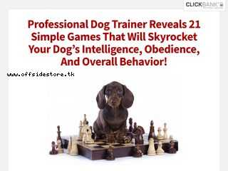 Brain Training For Dogs official website